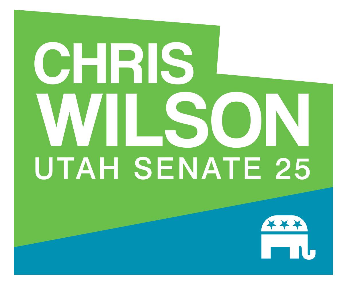 Utah State Senator Chris Wilson Logo