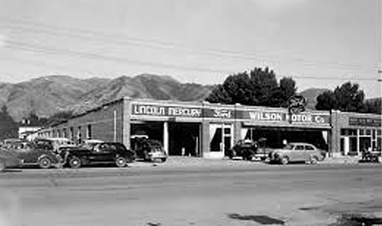 Wilson Motor Company in the 1950's
